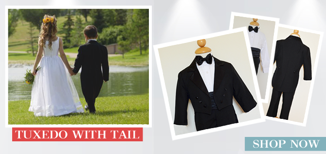 Boys Tuxedo with Tail
