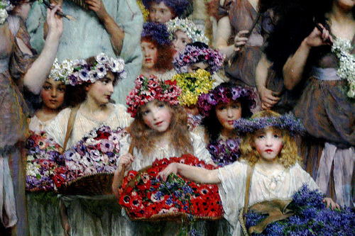 The history of flower girls