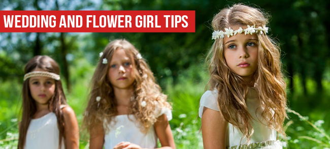 Flower Girls and Wedding Tips